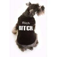 Rich Bitch Dog Tshirt